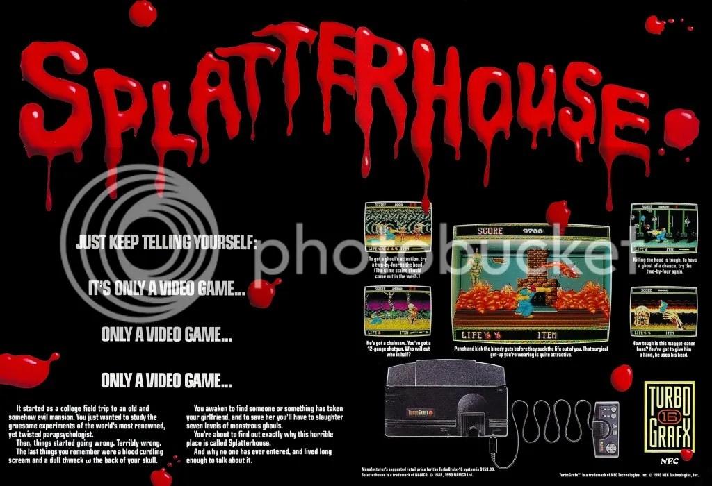 Splatterhouse 1990