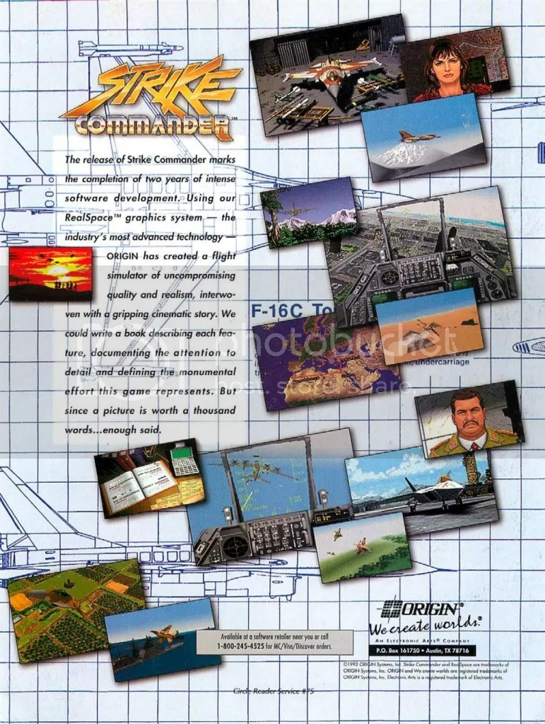 Strike Commander ad 1993