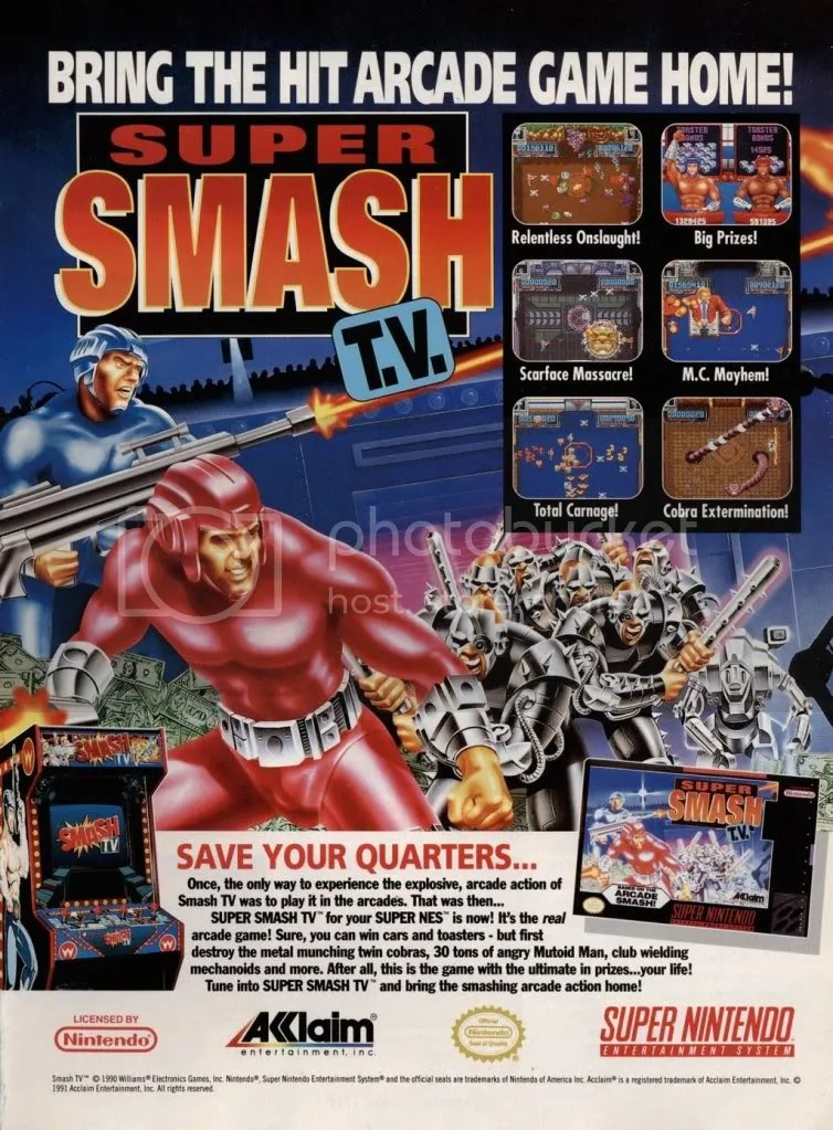 Super Smash TV ad
