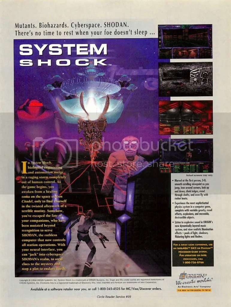 System Shock ad 1 1994