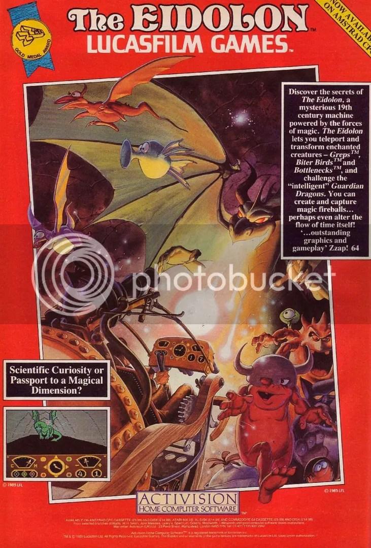 (1985) The Eidolon