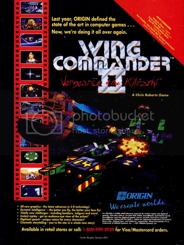 Wing Commander II 1990