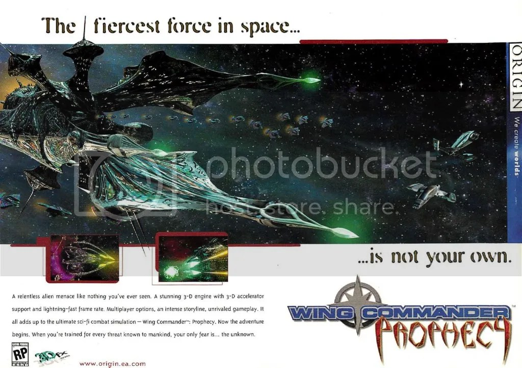 Wing Commander Prophecy 1997