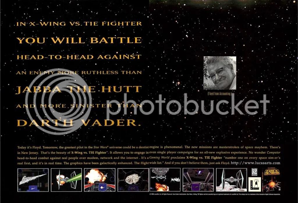 X-Wing vs. TIE Fighter 1997