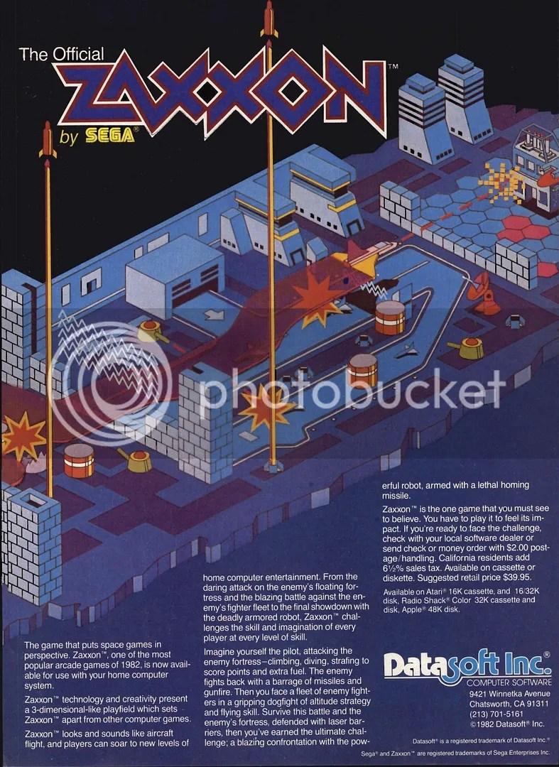 (1983 ad) Zaxxon