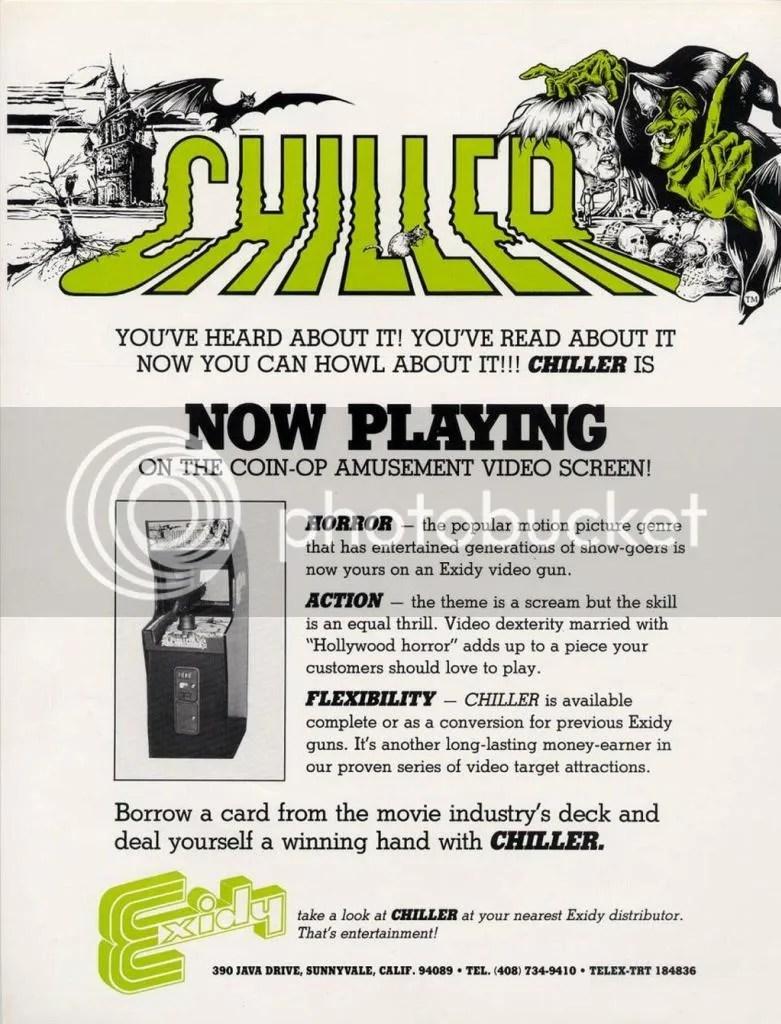 Chiller flyer 1986