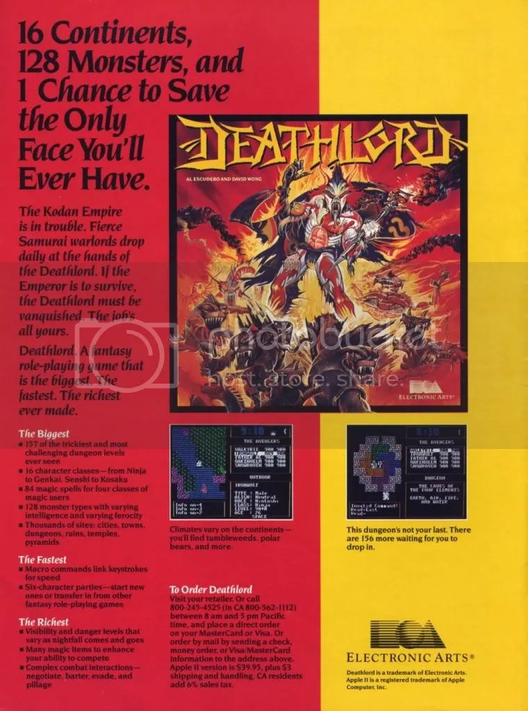 Deathlord ad