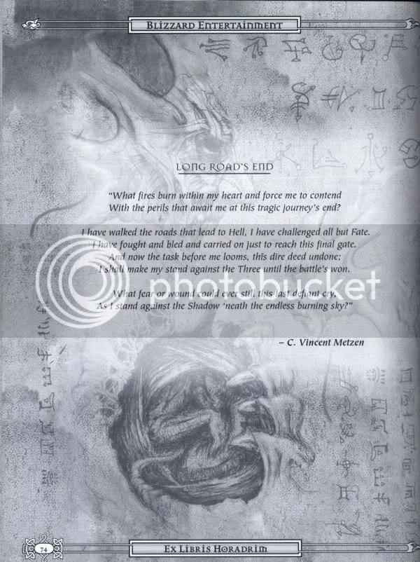Diablo 2 manual excerpt