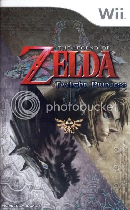 Twilight Princess manual cover
