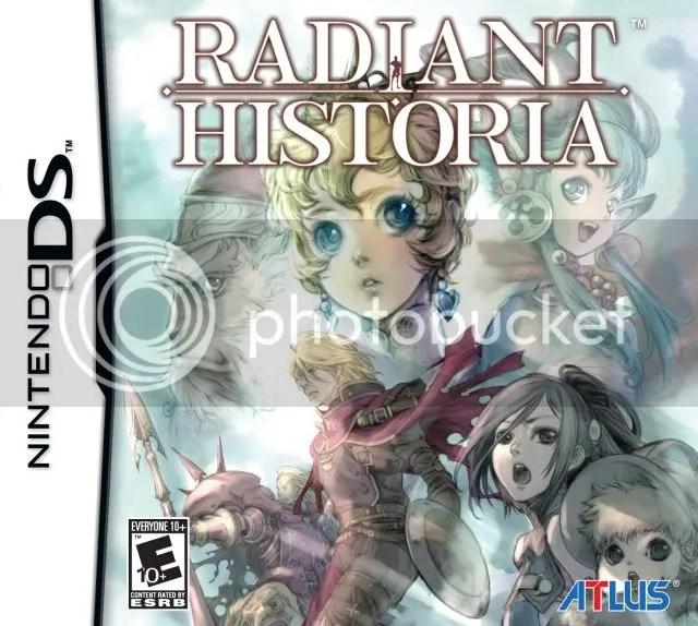 Radiant Historia - Box