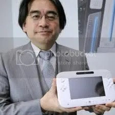 Iwata says hi with the Wii U