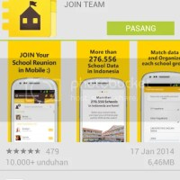 Aplikasi Android Terbaru : JOIN Alumni and School Friends