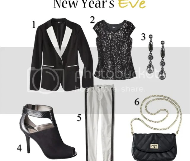 What To Wear For New Years Eve See A Casual Holiday Party Outfit In Black