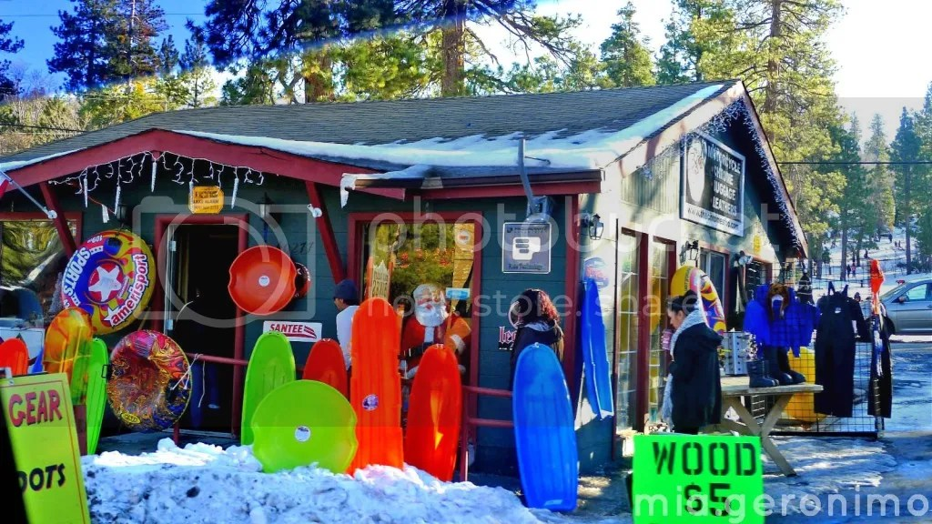 Big Bear Village Christmas.United States Big Bear Lake California Teacher Mia Travels