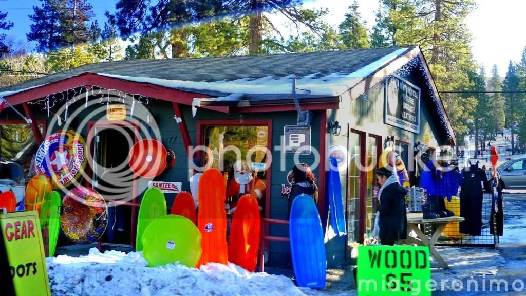 Big Bear Village Christmas.United States Big Bear Lake California Teacher Mia Travels