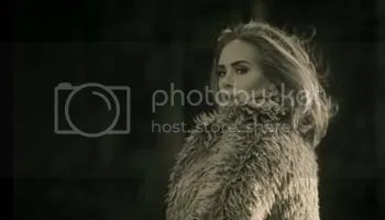 Adele in the music video for Hello