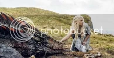 Emilia Clarke in the Game of Thrones episode Mother's Mercy