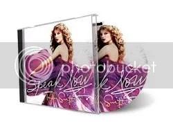Capa do CD: Speak Now