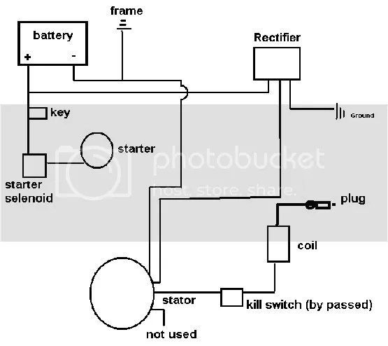 Wiring Diagram For Chinese Quad 50Cc