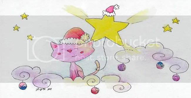 startail christmas 2011 - by Ravenari