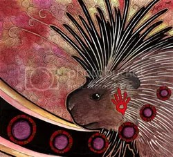 American Porcupine as Totem by Ravenari