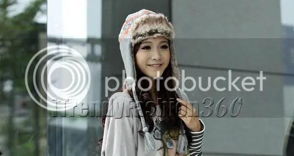 หมวกกันหนาวเกาหลีแฟชั่น