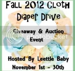 Fall 2012 Cloth Diaper Drive