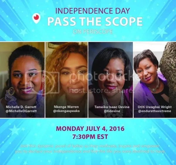 Independence Day Pass The Scope