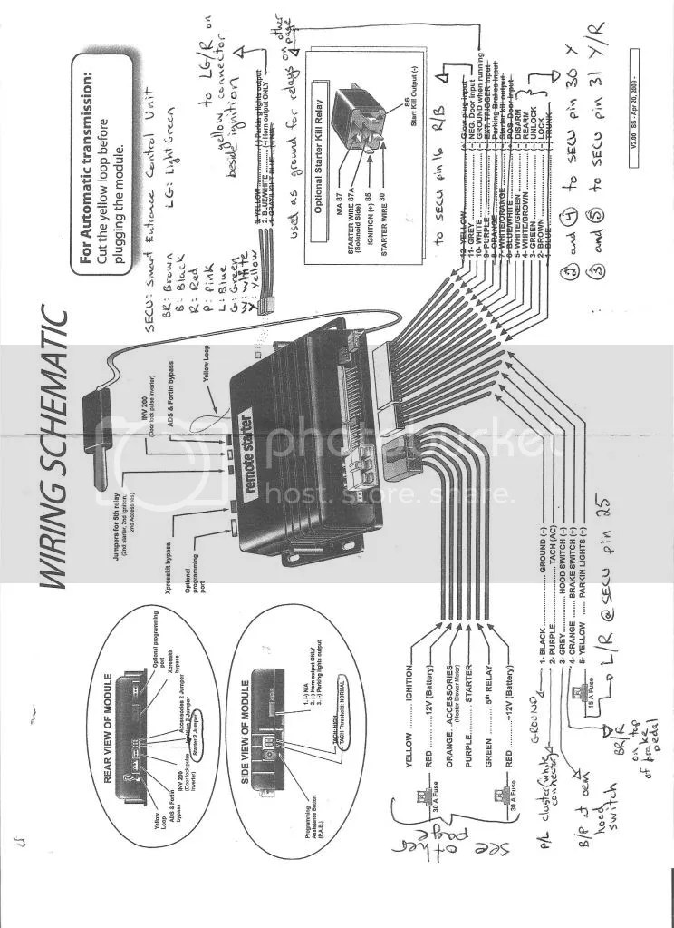 Viper 771xv Wiring Diagram - Wiring Diagrams on