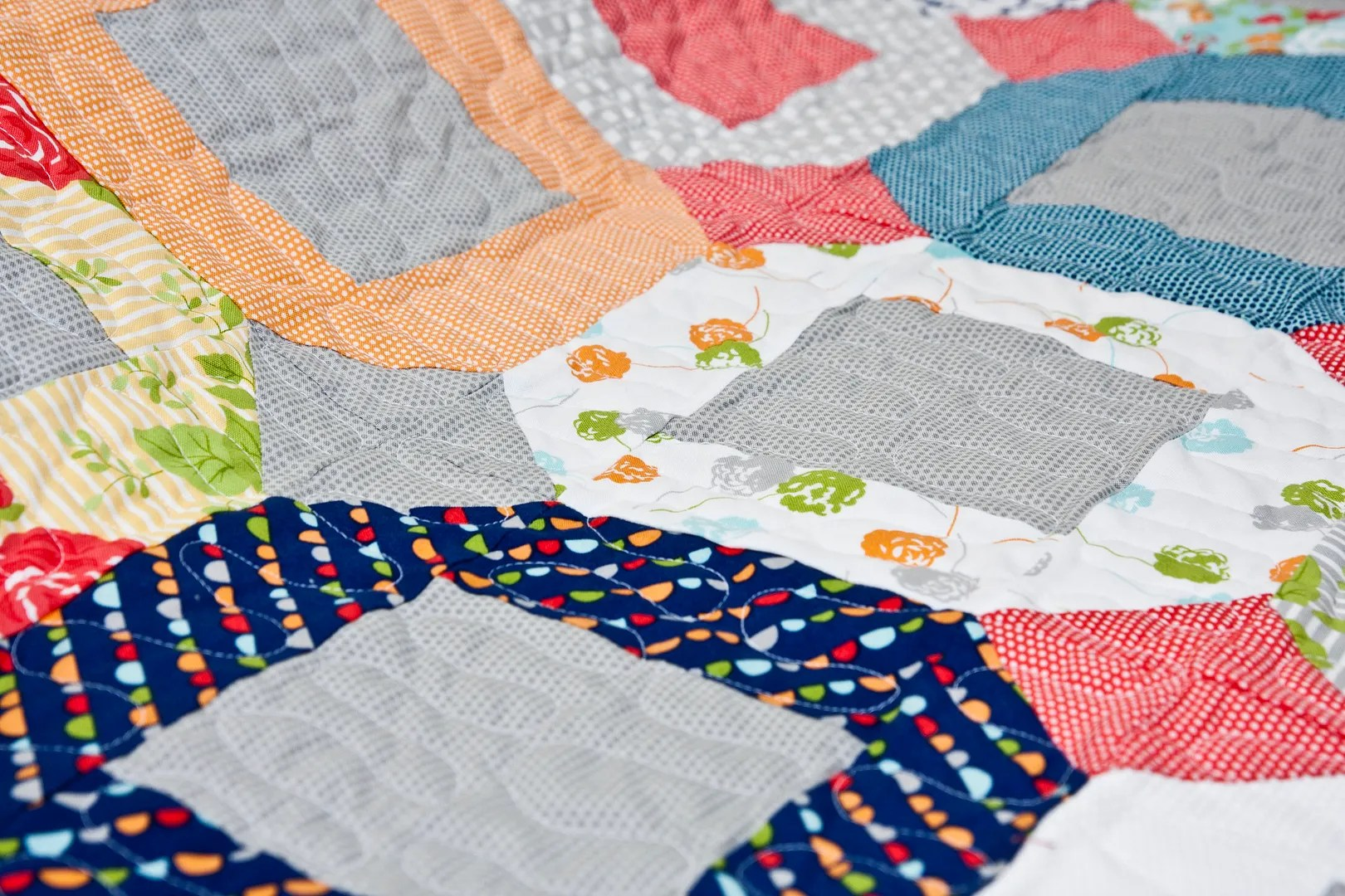 Vanessa's Jumping Jacks quilt tutorial