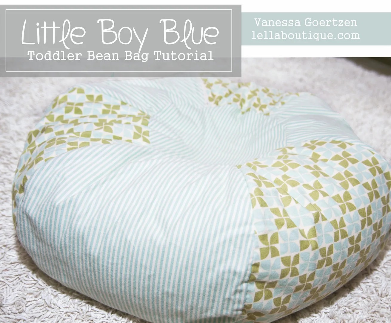 Toddler Bean Bag Pattern by Vanessa Goertzen