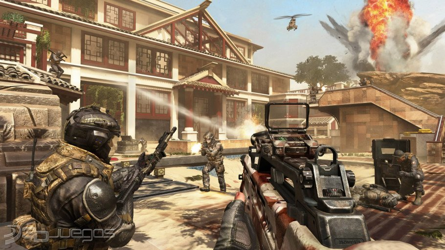 Call Of Duty Black Ops 2 Revolution PS3 PC Xbox 360