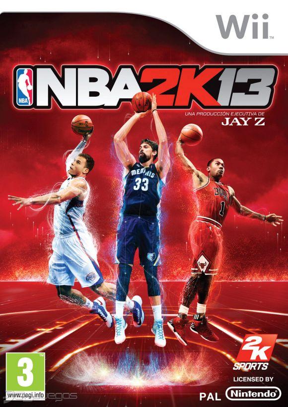 NBA 2K13 Para Wii 3DJuegos
