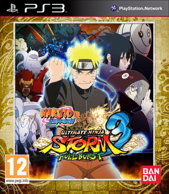 Naruto Shippuden Ultimate Ninja Storm 3 Full Burst Para