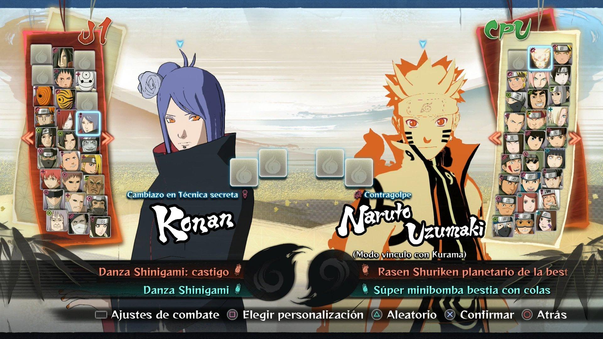 Naruto Shippuden Ultimate Ninja Storm 4 Para PC 3DJuegos