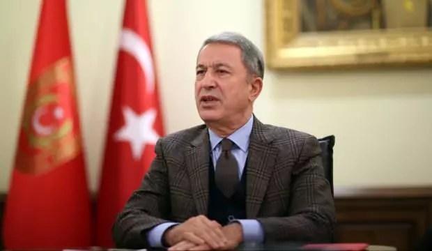 Bakan Akar'dan Azerbaycan'a dayanak iletisi 1