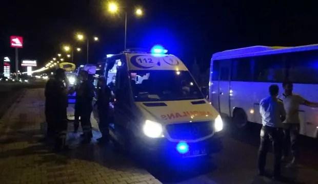 Diyarbakır'da trafik kazası: 2'si ağır 10 yaralı 1
