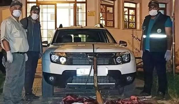Konya'da yaban keçisi avına 61 bin 998 lira ceza 1