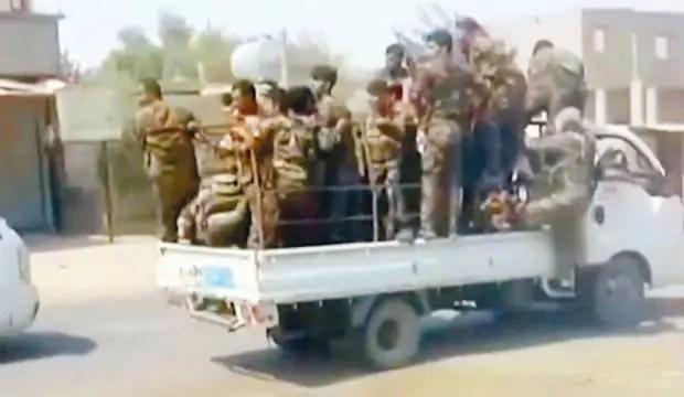 Aşiretler PKK'yı dağıttı! Artlarına bakmadan kaçtılar 1