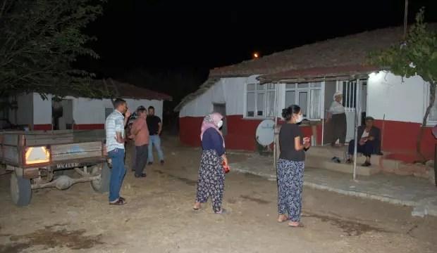 Malkara'da konut yangını 1