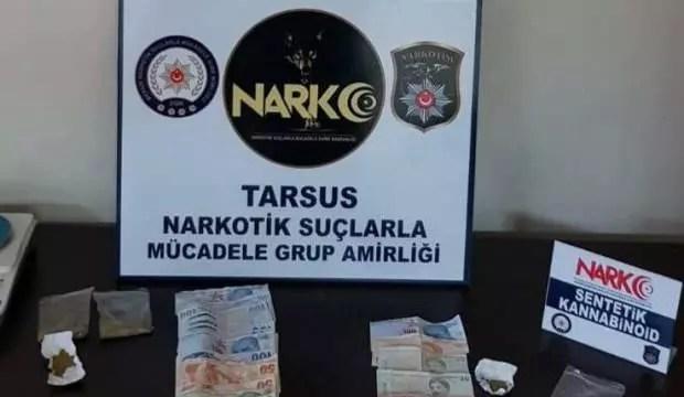 Uyuşturucu operasyonunda 2 kişi tutuklandı 1