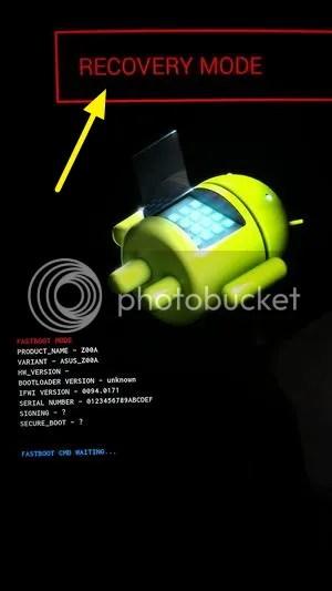 Cara Hard Reset Asus Zenfone 2 ZE550ML ZE551ML