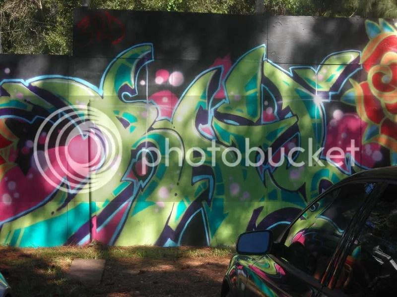 Graffiti at Crossover Community Church