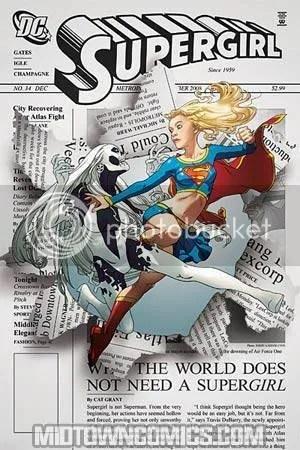 SUPERGIRL #34