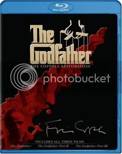 GODFATHER TRILOGY Coppola Cut 9/23
