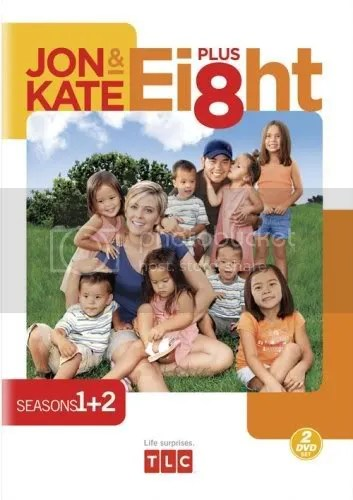 JON AND KATE PLUS 8 seasons 1 &2 9/9