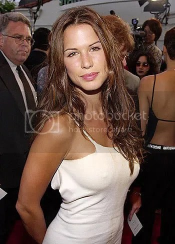 The first Lara Croft model...the lovely Rhona Mitra.
