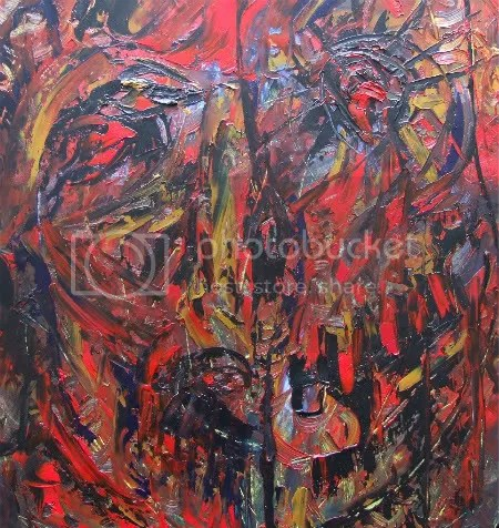 Memento Mori Modern Painting