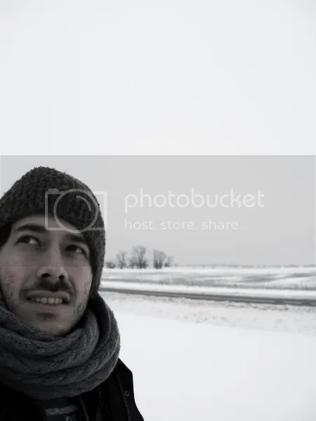 Pablo Saborio in Snow