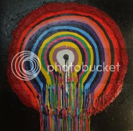 Circle Abstract Painting
